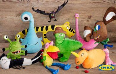 Kampaň plyšových hračiek IKEA - navrhnuté deťmi pre dobrú vec!