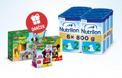 LEGO® DUPLO® ako darček pri nákupe 6-balenia Nutrilon ProNutra
