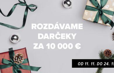 ZOOT rozdáva darčeky za 10 000 € – niečo si želajte a…