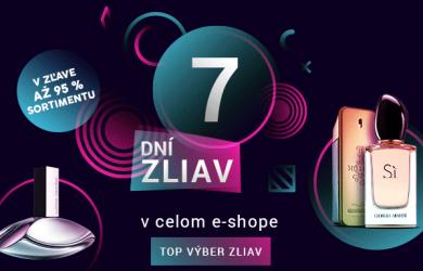 Vône a kozmetika extra výhodne, Elnino.sk má 7 dní zliav